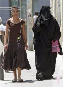 If she's wearing that from choice, what can you say?  Modesty sucks? Which one of these outfits do YOU see as gross and indecent?
