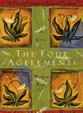 "Cover of ""The Four Agreements"" by Don Miguel Ruiz.  A touchy feely classic worth reading."