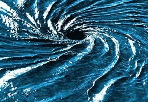 The soul can no more exist without the body than a whirlpool can exist without the water.