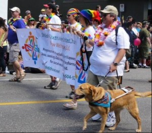Vancouver Pride Parade - it is possible for Christians to be tolerant, despite their poisonous dogma.
