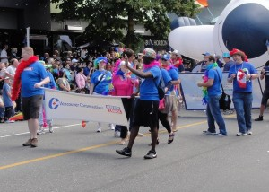 Vancouver Pride Parade - Conservatives marching for tolerance.  Who'da thunk it?