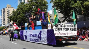 Vancouver Pride Parade - All kinds of causes in support of diversity.