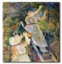 Cherry Picker - Berthe Morisot.  I do not know whether Morisot was a Christian, but I do know that Christians cherry pick without giving it a thought.  It's expected.