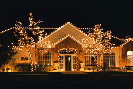 Christmas lights were always a big part of the magic of this season.