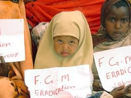 FGM protest, a fairly new phenomenon and about time.