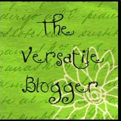 The Versatile Blogger logo.  Nice to be nominated.