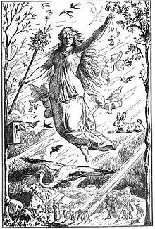 Ostara was a Christian goddess.  Just like Zeus and Thor.