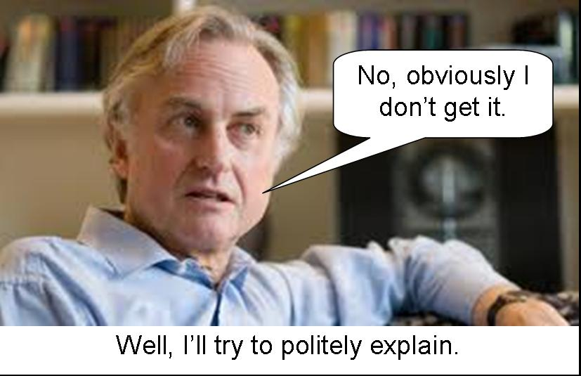 Richard_Dawkins, my hero.  And totally wrong on this issue.