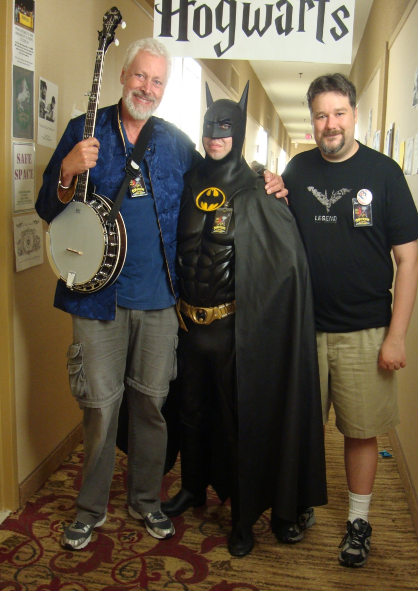 Great fun listening to Dan talk about Batman with Batman.