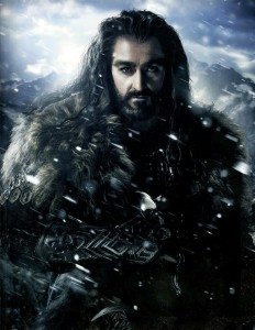 Thorin.  The brooder king of the dwarfs.