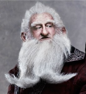 Balin, a dwarf who will follow a leader anywhere.