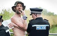 Stephen Gough arrested for offending the public. I am not offended by him.  I am offended by the public.