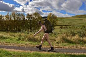 Stephen Gough, the naked rambler.  Turn him loose.