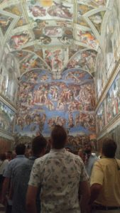 Sistine Chapel crowd